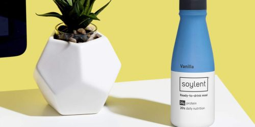 Amazon: Soylent Meal Replacement Shakes 12-Pack Only $25 Shipped (Just $2.09 Per Drink)