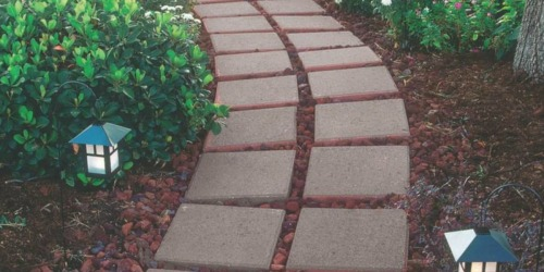 Square Concrete Paver Stones Only $1 at Lowe's