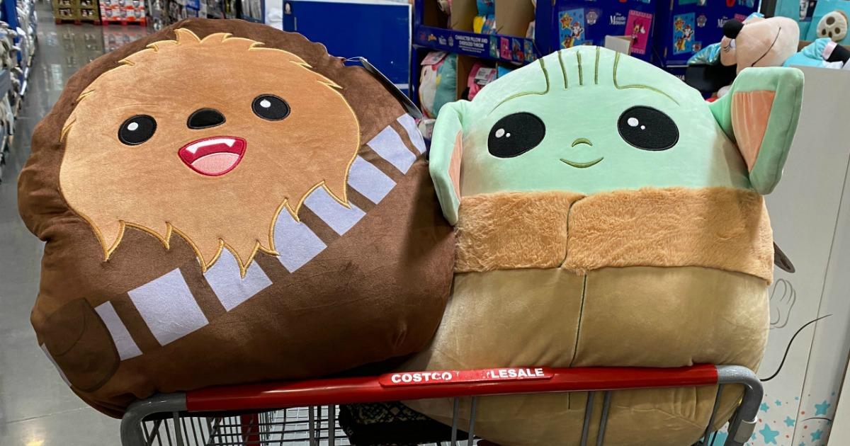 Star Wars Squishmallows in Costco basket