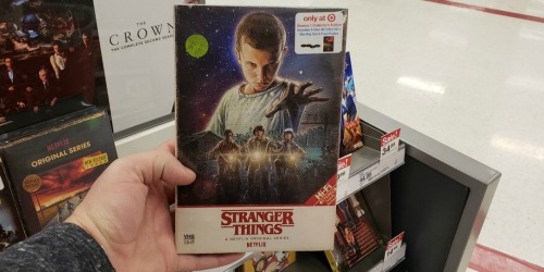 Stranger Things Collector's Edition Movie Packs Only $7.50 After Target Gift Card
