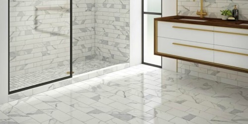 75% Off Floor & Wall Tile at Lowe's