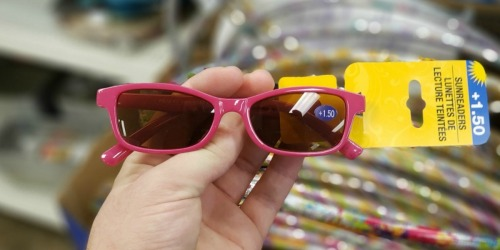 Sunreader Fashionable Reading Glasses Only $1 at Dollar Tree
