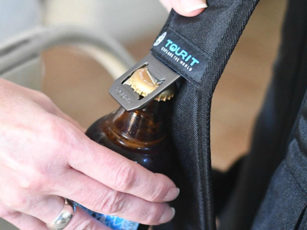 TOURIT Insulated Backpack Built-in Bottle Opener