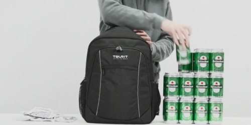Amazon: TOURIT Insulated Cooler Backpack Just $20.99 Shipped