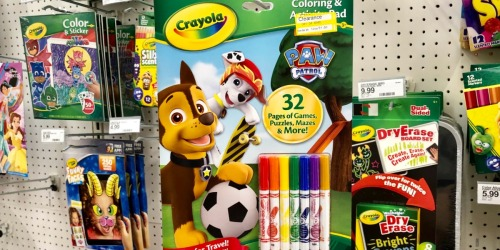 Up to 70% Off Crayola Arts & Crafts at Target