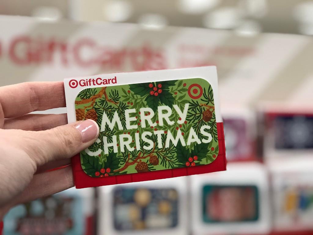 Target Merry Christmas Gift Card
