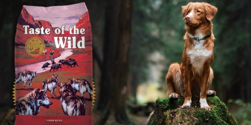 Amazon: 50% Off Taste of the Wild Dry Dog Food + Free Shipping
