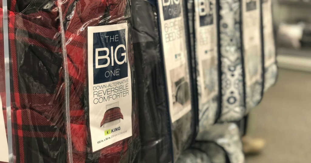 The Big One comforters at Kohl's