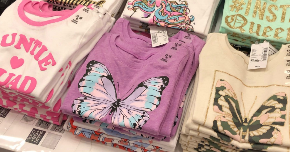 The Childrens Place Girls Big Graphic Fashion Tops