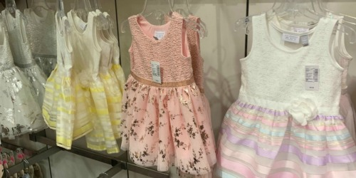 The Children's Place Easter Dresses Only $11.98 Shipped & More
