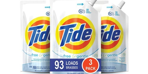 Amazon: Tide Liquid Laundry Detergent 48oz 3-Pack Just $14.99 (Only $5 Each)