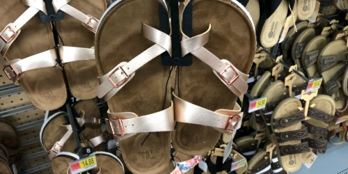 New Time & Tru Spring Sandals & More at Walmart