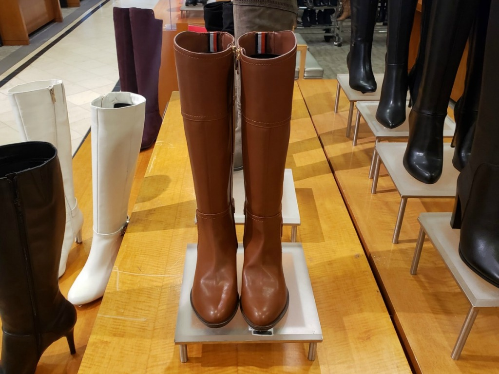 6c469b30ea40 Tommy Hilfiger Merritt Riding Boots Only  42.93 (regularly  129)