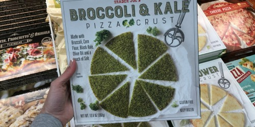 Trader Joe's Broccoli & Kale Pizza Crust, Sweet Basil Foaming Hand Soap & More Finds for March 2019