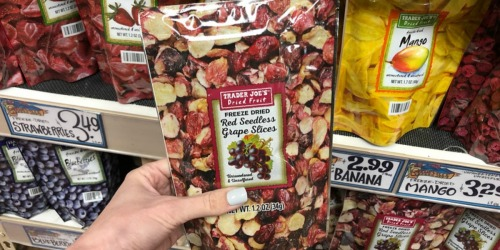 Trader Joe's Freeze Dried Grape Slices Only $2.99 & More Fun Finds