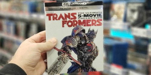 Transformers 4K + Digital 5-Movie Collection Only $39.74 Shipped on Amazon