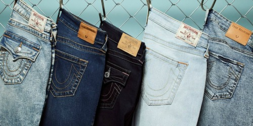 True Religion Men's & Women's Jeans Only $49.99 at Zulily (Regularly $120+)