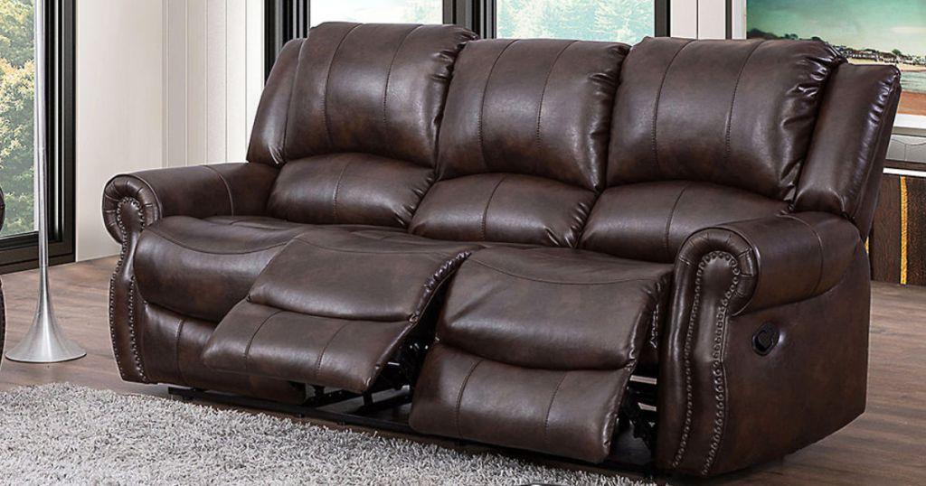 Triple Reclining Sofa Just 499 Shipped