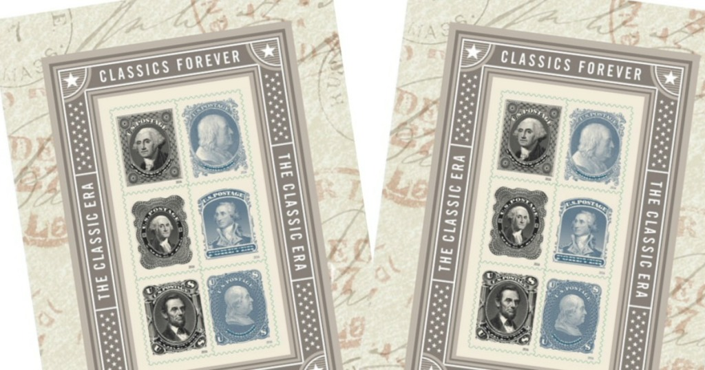 USPS Classic Stamps