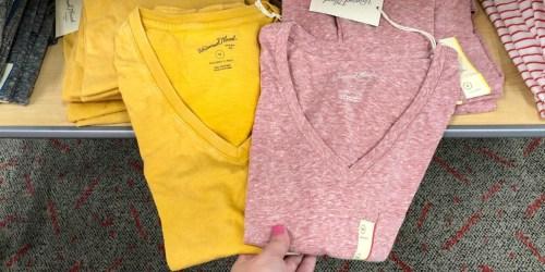 Target: Women's Tees & Tanks Only $5 (Stock Up on Wardrobe Basics)