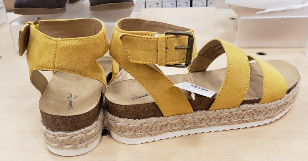 b59b1b484b83df Universal Thread Women s Agnes Quarter Strap Espadrille Sandals  32.99. A  New Day Women s Adelina Adult Espadrilles Slide Sandals  32.99