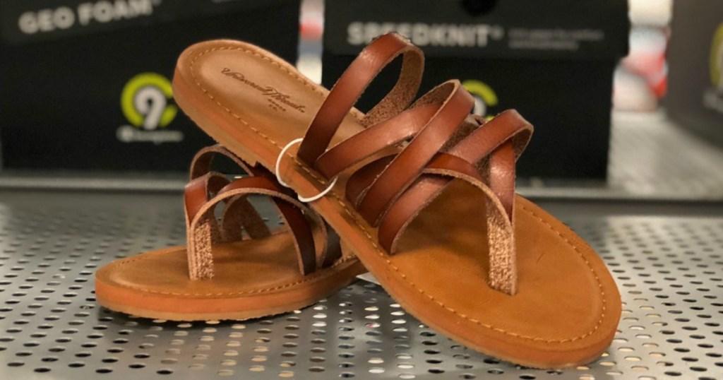 4932a8e51b4d Universal Thread Women s Maritza Multi Strap Toe Slide Sandal Only  11.99  (regularly  15.99)