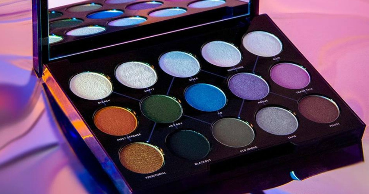 urban decay distortion 15 eye shadow palette