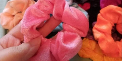 Scrunchy Hair Ties 36-Count Pack Only $11.99 at Amazon (Just 33¢ Each)