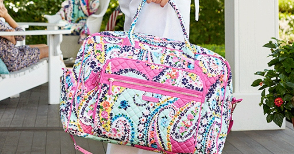 19a181a51e Vera Bradley Weekender Bags as low as  39.50 (regularly  98) 30% off  discount automatically applied during checkout. Final cost as low as  27.65  shipped!