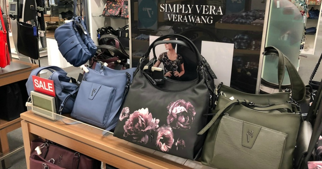 57c2049b71 Hop on over to Kohl s.com where you ll find a nice selection of Women s Simply  Vera by Vera Wang Bags on sale!