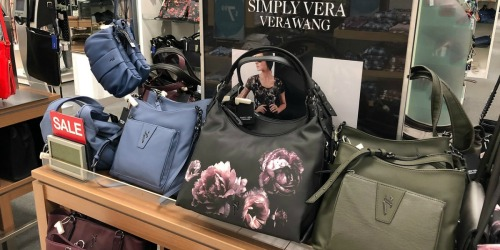 Up to 60% Off Vera Wang Bags + Free Shipping for Kohl's Cardholders