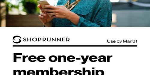 FREE ShopRunner Membership for Verizon Up Rewards Members