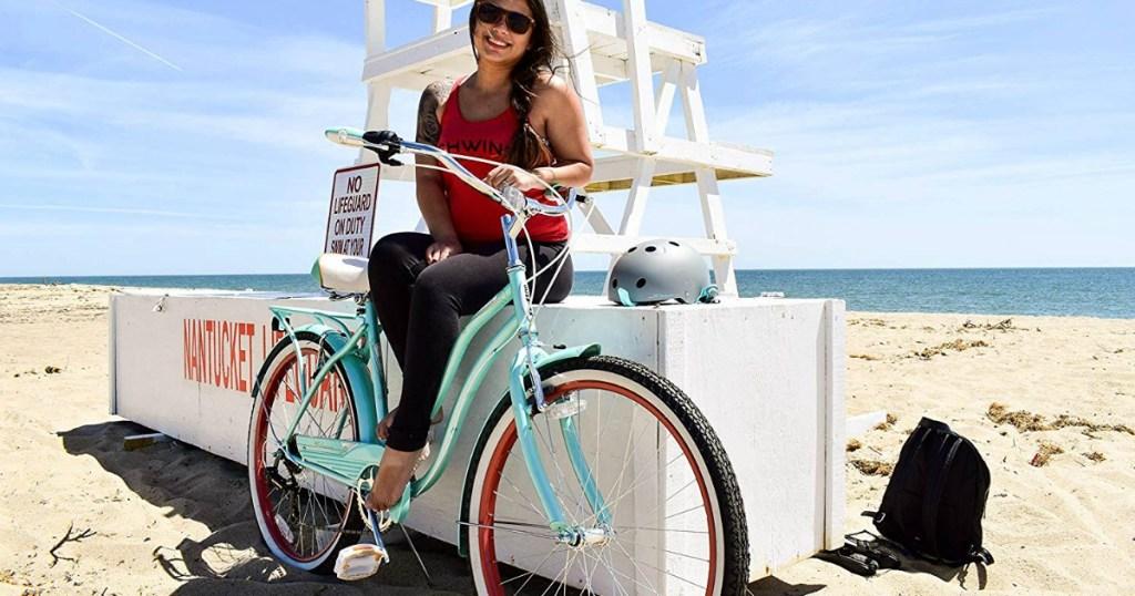 Schwinn Women's Perla Cruiser Bike Just $139 99 Shipped + Get $20