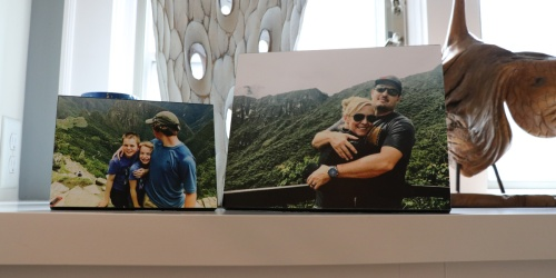 65% Off Wood or Metal Photo Panels + Free Walgreens Store Pick-Up
