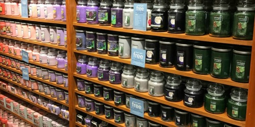Yankee Candle Large Jars Only $10 (Regularly $30)