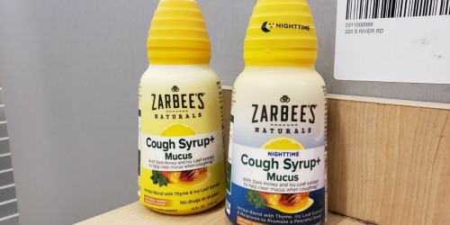 Zarbee's Day or Night Adult Cough Syrup Only $4 Each After Cash Back at Target