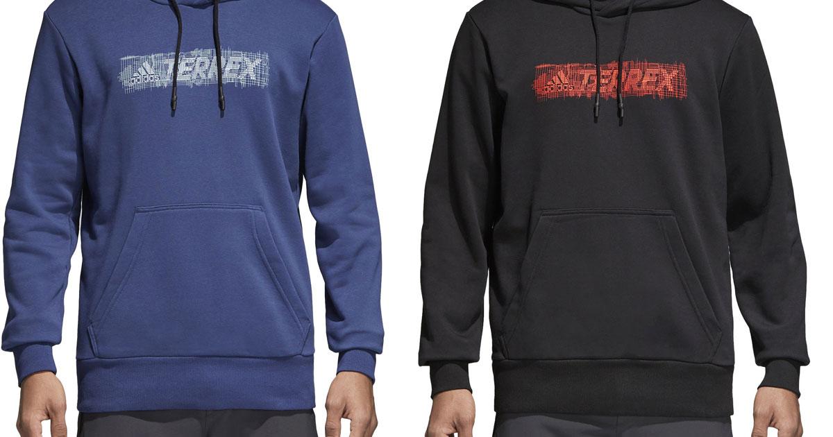 Adidas logo hoodies