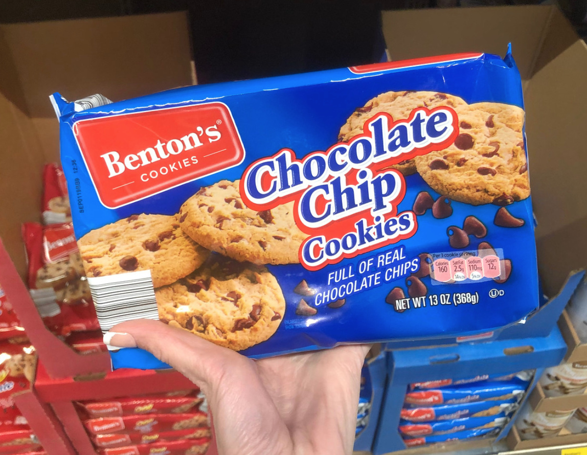 Benton's chocolate chip cookies Aldi