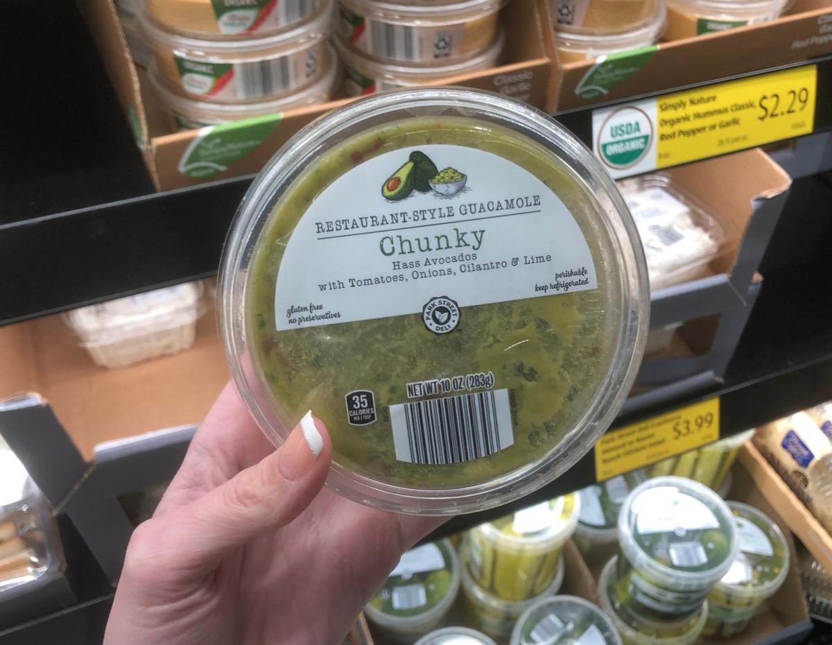 restaurant-style chunky guacamole Aldi