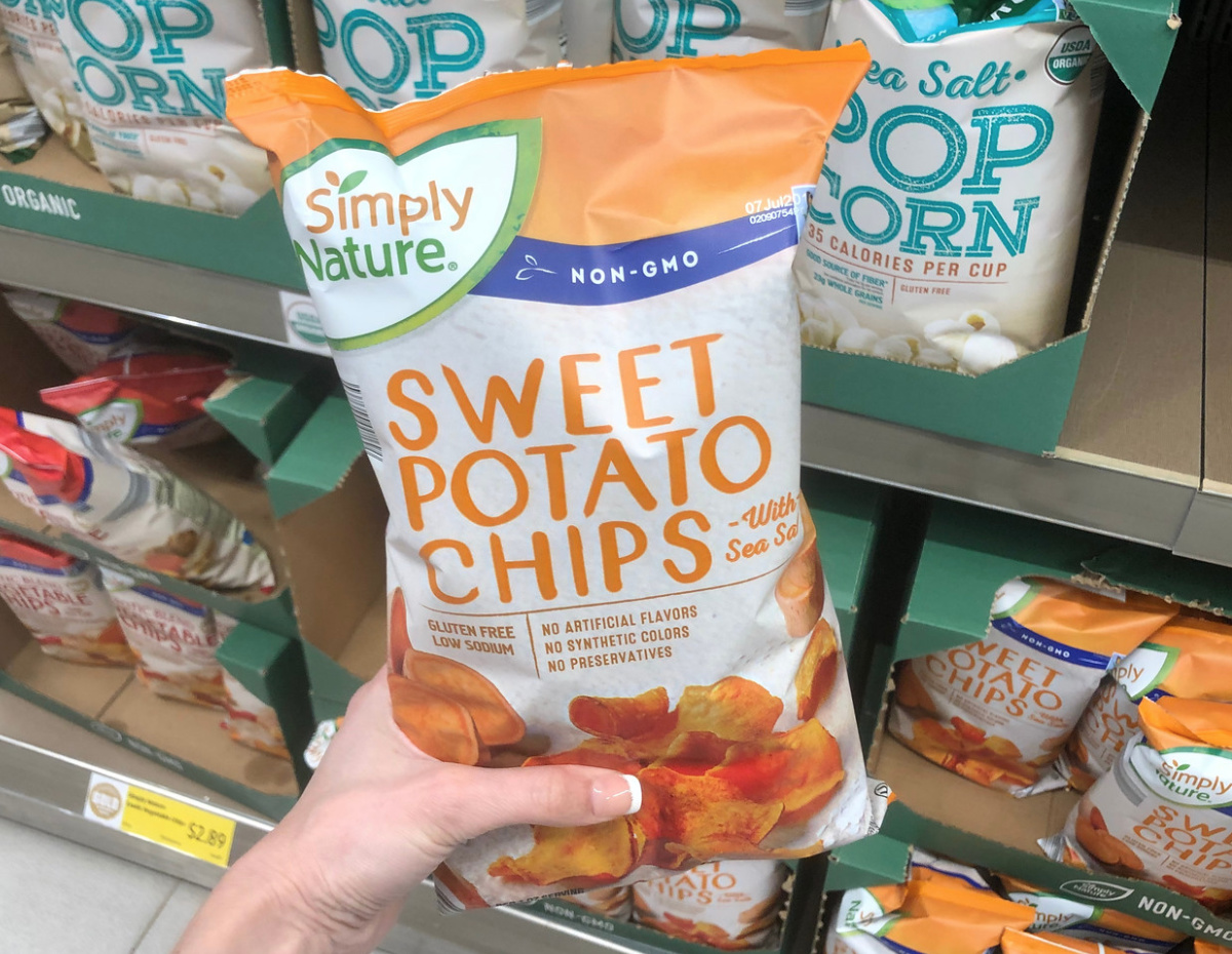 sweet potato chip Aldi