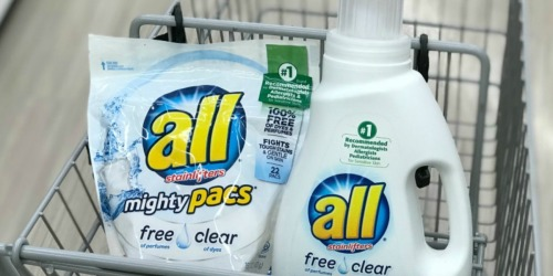 All Laundry Detergent Only $1.88 at Walgreens (In-Store & Online)