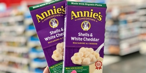 Annie's Mac & Cheese 12-Pack Only $9.60 Shipped on Amazon + More Snack Deals