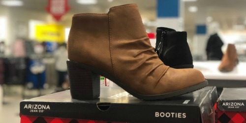 Arizona Women's Booties as Low as $11.99 at JCPenney (Regularly $60)