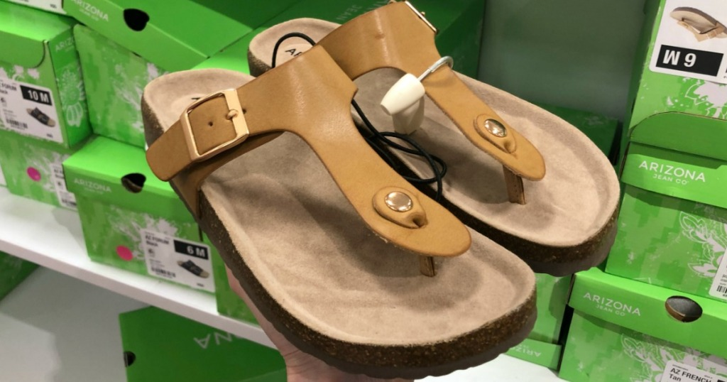 02af5c3e1c54 65% Off Arizona Women s Sandals at JCPenney (LOTS of Birkenstock  Look-a-Like Options)