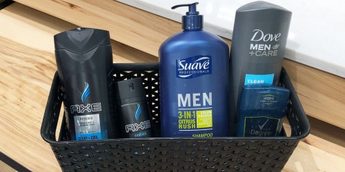 AXE Men's Body Wash Only $1.69 Each at Target & More