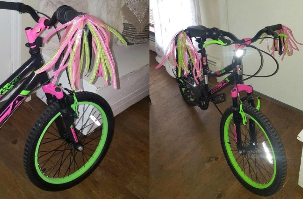 bling on bike handles