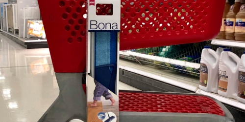 Bona Microfiber Floor Mop Only $11.99 at Target (Just Use Your Phone)
