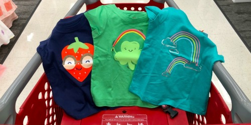 Cat & Jack Tees & Shorts Only $3 Each + More at Target.com