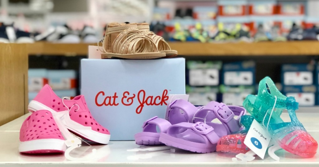 6c9b7335290c Check out the deals we found… Cat   Jack Girls Sandals ...