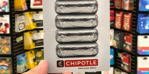 $50 Chipotle eGift Card Only $42.50